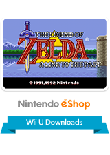 The Legend of Zelda - A Link to the Past VC Wii U Logo
