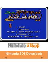 Adventure Island II VC 3DS Logo