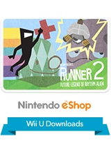 BIT.TRIP Presents... Runner2 - Future Legend of Rhythm Alien eShop Wii U Logo