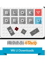 BLOK DROP U eShop Wii U Logo