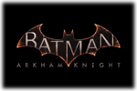 Batman Arkham Knight Logo black