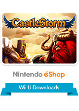 Castlestorm eShop Wii U Logo