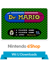 Dr. Mario VC Wii U Logo