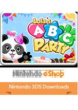Lola's ABC Party eShop 3DS Logo