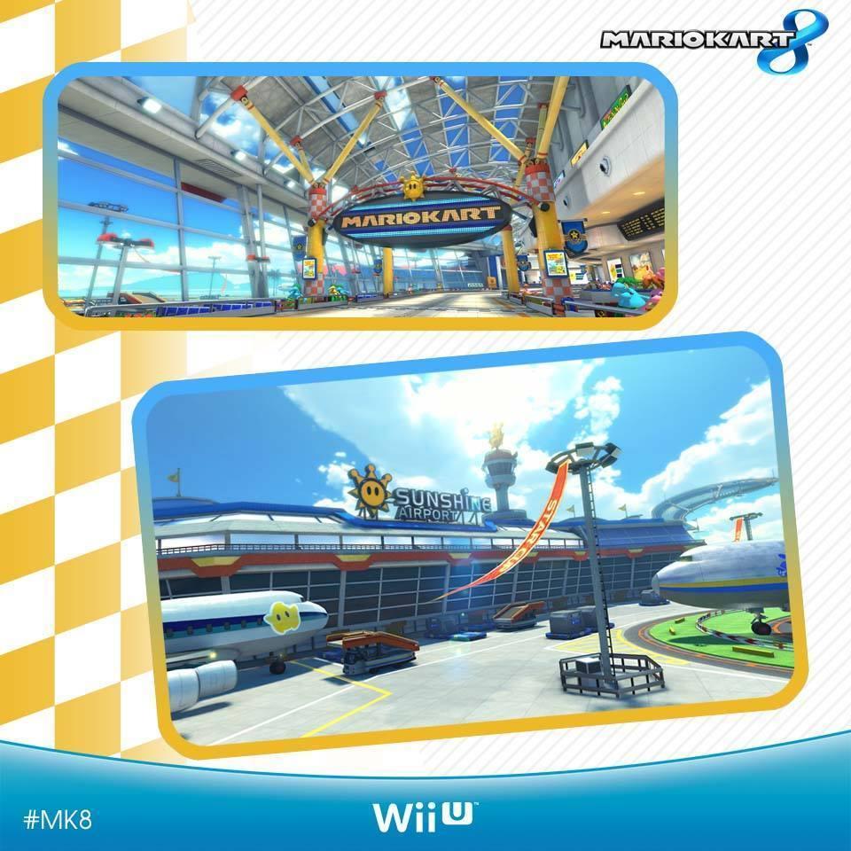 Mario Kart 8 - Circuitos - Sunshine Airport