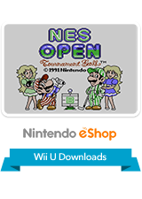 NES Open Tournament Golf eShop Wii U Logo
