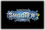 PixelJunk Shooter Ultimate Logo black