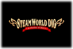 SteamWorld Dog Logo black