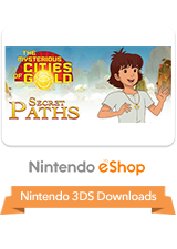 The Mysterious Cities of Gold - Secret Paths eShop 3DS Logo