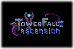 Towerfall Ascension Logo black