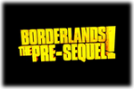 Borderlands The Pre-Sequel Logo black