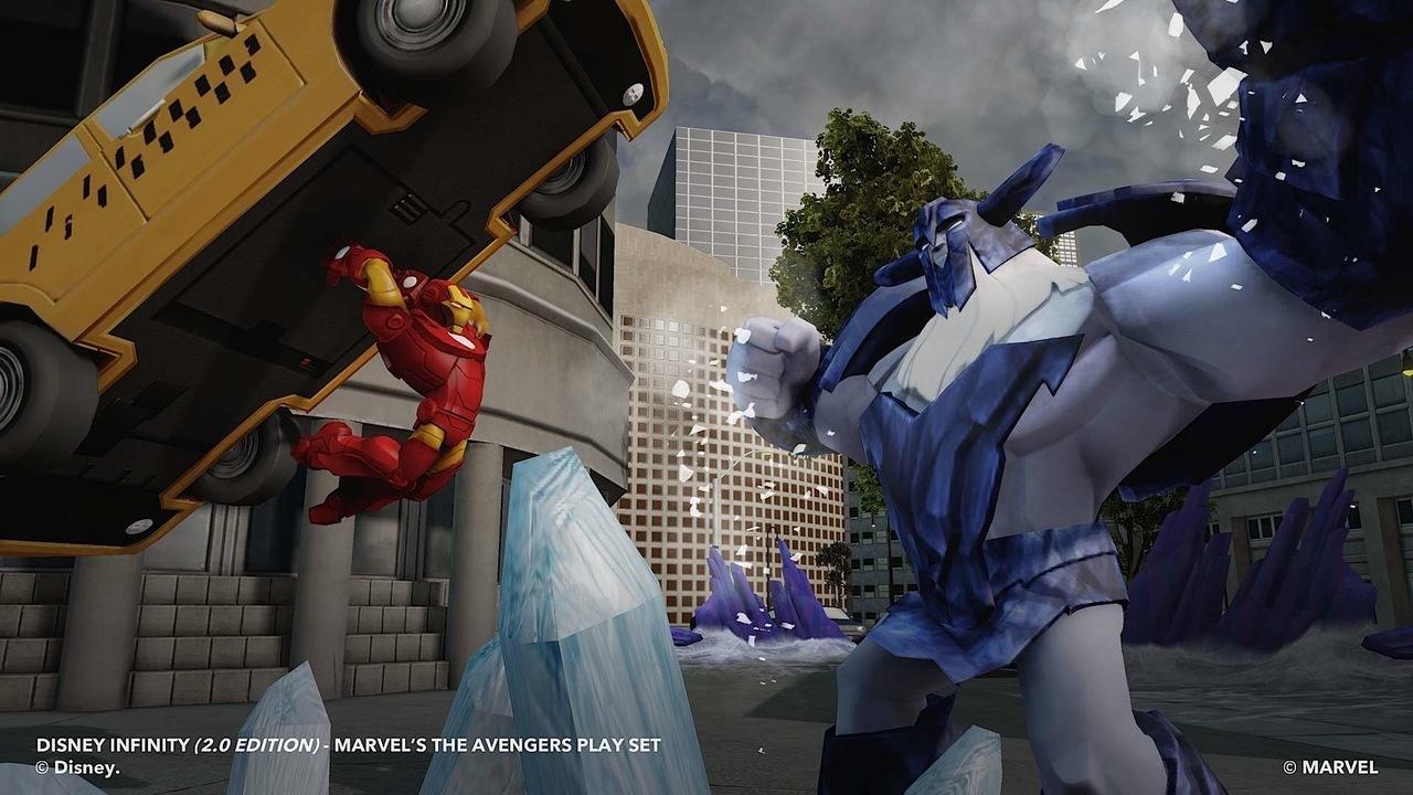 Disney y marvel anuncian disney infinite 2 0 marvel super heroes