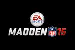 Madden NFL 15 Logo black