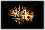 Monster Hunter 4G Logo black