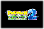 PAC-MAN and the Ghostly Adventures 2 Logo black