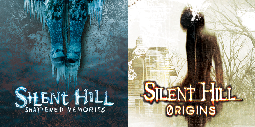 Silent Hill Shatterred Momories - Silent Hill Origins - PlayStaion VIta