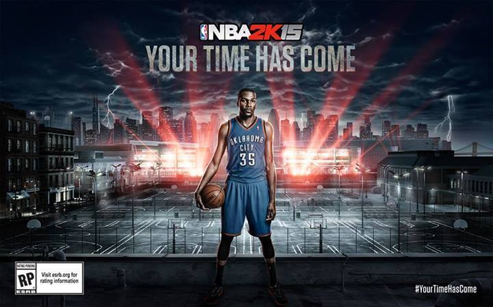 NBA 2K15 - Kevin Durant