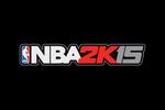 NBA 2K15 Logo black