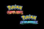 Pokemon Omega Ruby - Pokemon Omega Alpha Sapphire Logo black