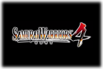 Samurai Warriors 4 Logo black