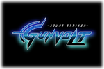 Azure Striker Gunvolt Logo black