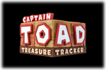 Captain Toad Treasure Tracker Logo black