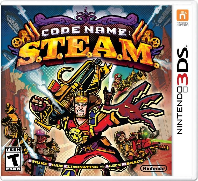 Codename STEAM cover 3DS USA