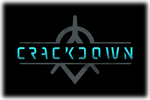 Crackdown Logo black