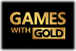 Games with Gold Logo 2 black