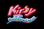 Kirby and the Rainbow Curse Logo black