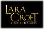 Lara Croft and the Temple of Osiris Logo black
