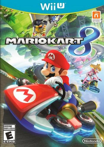 Mario Kart 8 cover Wii U USA