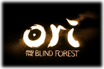 Ori and the Blind Forest Logo black