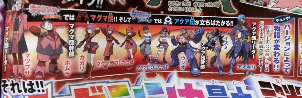 Pokémon Rubí Omega y Pokémon Zafiro Alfa 07-06-14 CoroCoro Comic 004