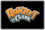 Ratchet & Clank Logo black