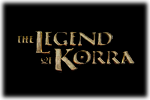 The Leged of Korra Logo black