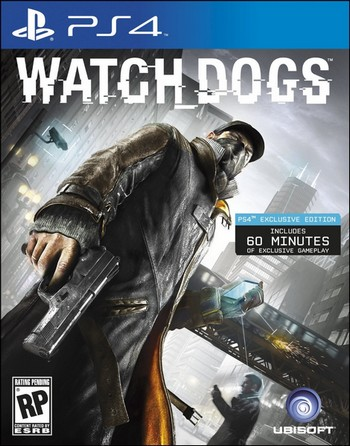 Watch_Dogs cover PS4 USA