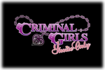 Criminal Girls Inite Only Logo black