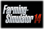 Farming Simulator 14 Logo black