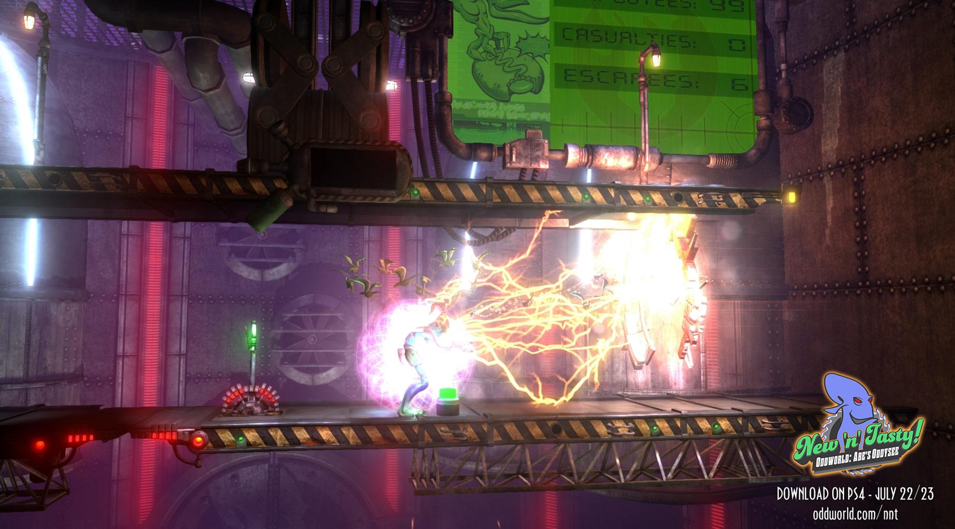 Oddworld New 'n' Tasty Launch 20-07-14 001