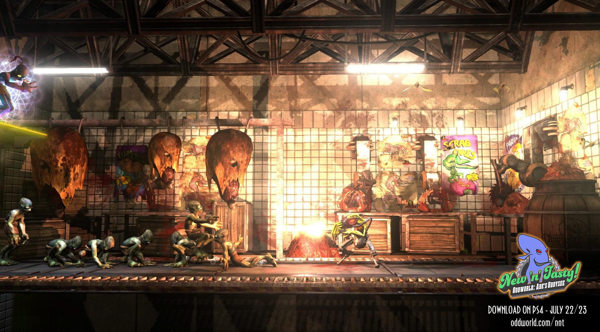 Oddworld New 'n' Tasty Launch 20-07-14 012