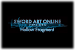 Sword Art Online Hollow Fragment Logo black