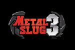 Metal Slug 3 Logo black