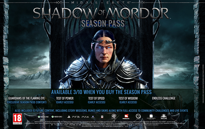 Middle-earth Shadow of Mordor Seasson Pass