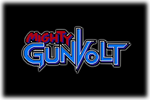 Mighty Gunvolt Logo black