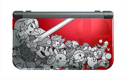 New Nintendo 3DS XL Super Smash Bros for Nintendo 3DS 29-08-14 001