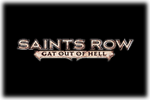 Saints Row Gat Out of Hell Logo black