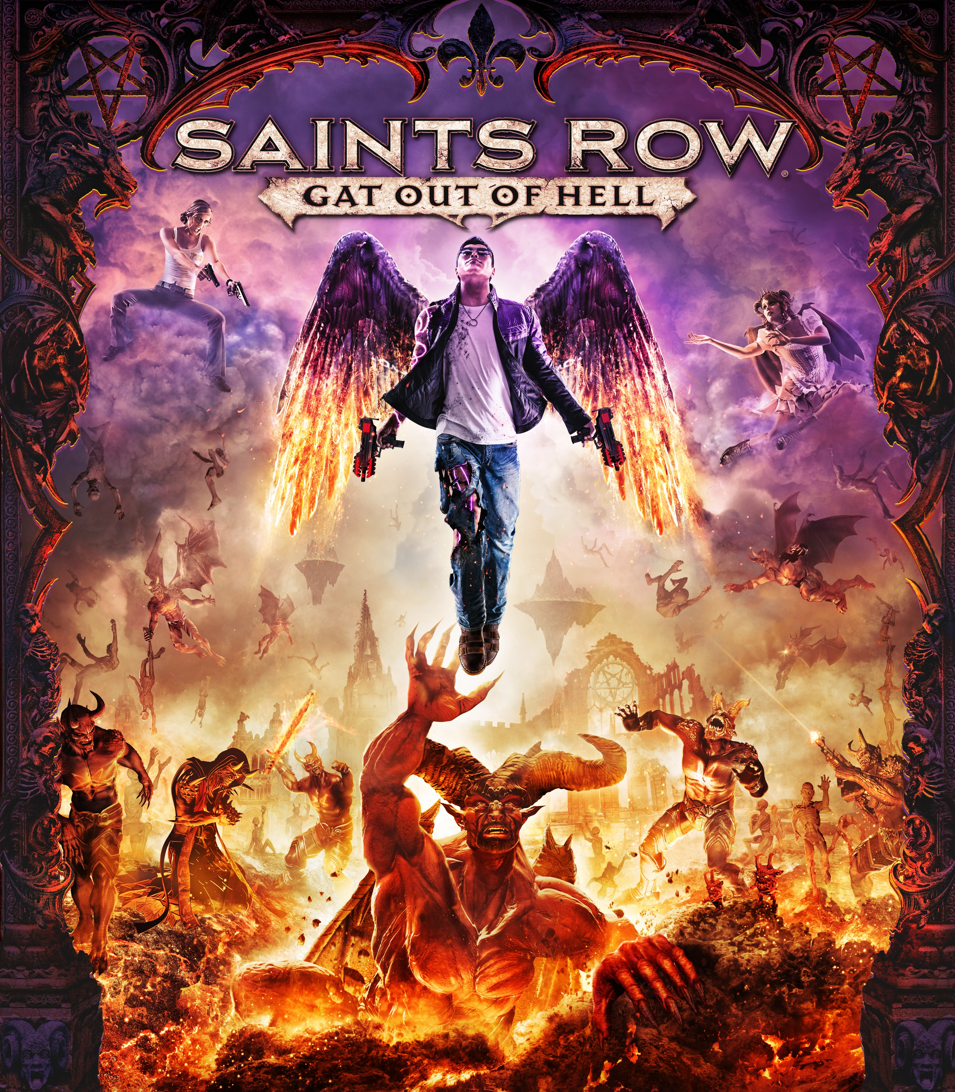 Saints Row Gat Out of Hell cover art