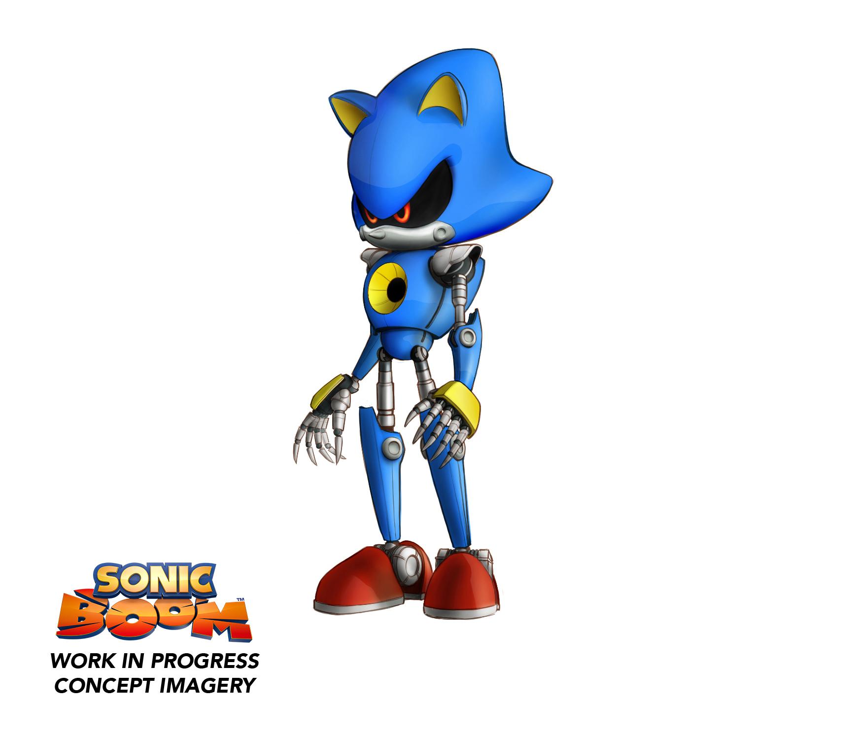 Sonic Boom: Rise of Lyric: Revelados Shadow y Metal Sonic. PLUS: El ...