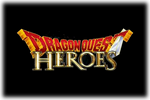 Dragon Quest Heroes Logo black